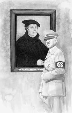 Martin Luther and Hitler